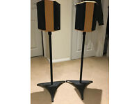 Gale 3060B Speakers and Stands
