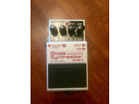 BOSS Bass Guitar synth pedal - SYB5