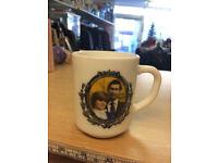 Vintage 1981 Arcopal France Prince Charles And Diana Wedding Commemorative Mug