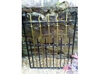 OriginalVictorian Wrought Iron Gate
