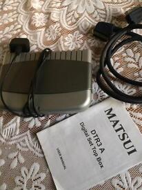 Digital set top box. Matsui