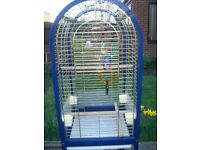 Parrot cage large on wheels