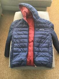 Ellesse coat reversible - almost new!