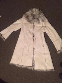 NEW Womens Furry winter coat size 16
