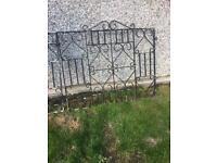 Wrought steel gates