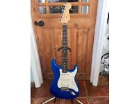 2004 Fender American Standard '50th Anniversary' Stratocaster Guitar – Chrome Blue/Rosewood