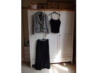 Jacket, skirt and camisole ideal for wedding
