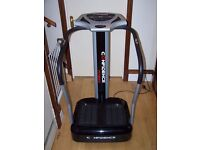 Confidence Vibrating Plate Trainer Gym Fitness Equipment Barely Used