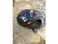Child full face bike helmet