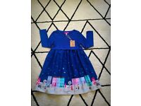 BNWT Joules Merrie dress 5-6y. RRP£34.99 reduced now £20 posted NEW