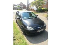 Vauxhall Corsa 55 Manual 1.4 Petrol Black 5 Door with subwoofer fitted and lots of extras!!!