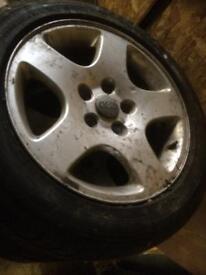 Alloy wheels audi