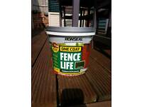 Ronseal one coat fence life paint - Forest Green - 5 litres
