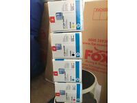 HP Complete set of Colour LaserJet CM2320 and CP2025 Toner Cartridges. Original & Brand new
