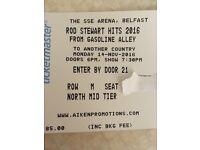 Rod Stewart Belfast SSE Arena Mon 14th November