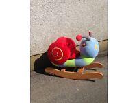 Mamas & Papas Rocking Animal ( Snail ) KID,S PLAYTOY