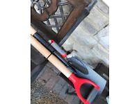 NEW 4 pce full size fork & spade & trowel & hand fork