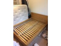 Ikea double bed and mattress in good condition