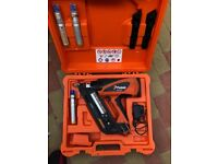 Paslode ppn 50i twisted nails gun with 2 batteries And charger good working condition