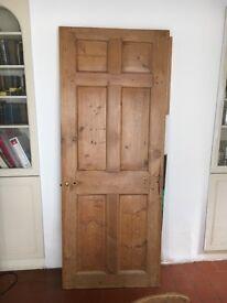 Door, solid rustic