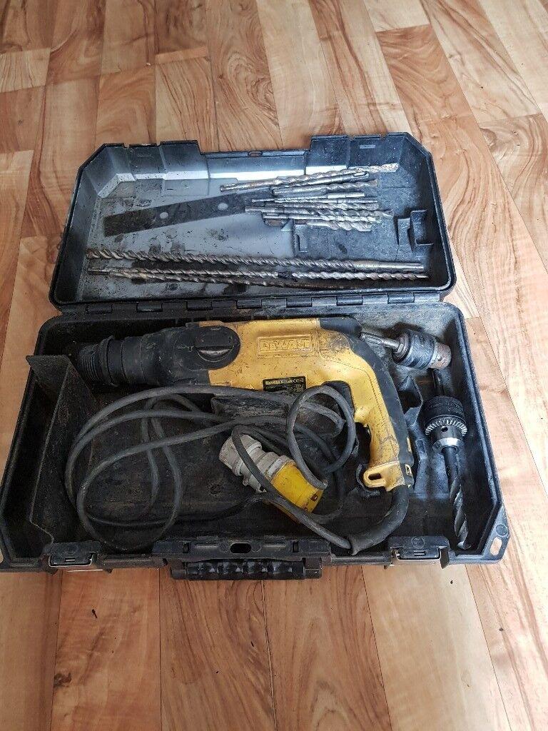 dewalt 110v sds drill in queensbury west yorkshire gumtree