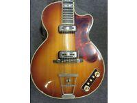 Hofner Club 60 Vintage Electric Guitar.