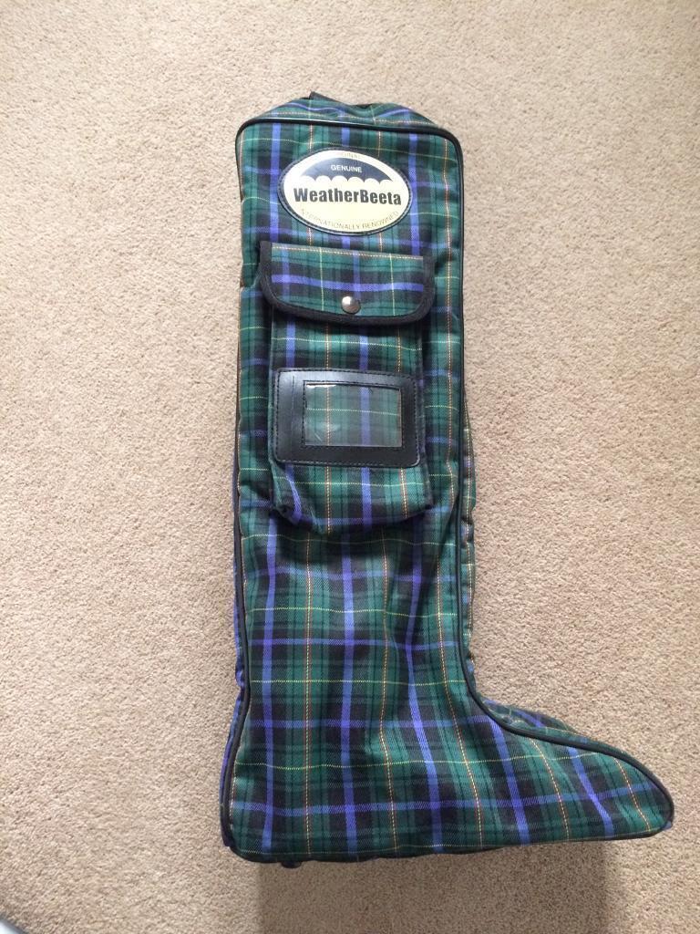 Weatherbeeta Boot Bag and Boot Pulls