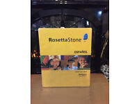 Rosetta Stone Spanish (Latin America) Level 1-5 Brand New. Never Used.