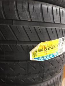 315/25/20 x4 Michelin new tire