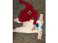 Various 0-3 months boy clothes including NEXT
