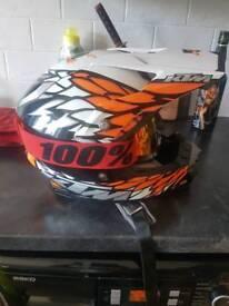 Ktm motocross helmet