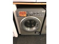 HOTPOINT 8+6KG NEW MODEL WASHING MACHINE I GREY