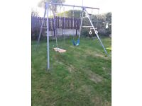 Outdoor used swing set FREE
