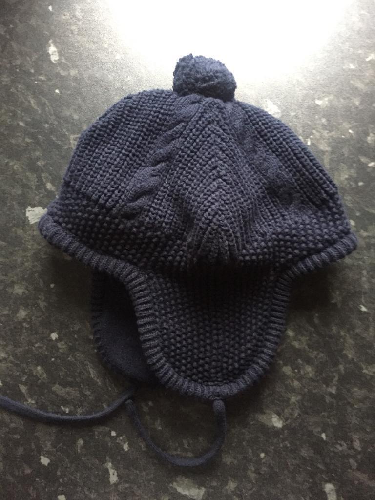 VGC JoJo Maman Bebe Cosy Cable Knit Hat Bonnet (Fits 3-6 Years ... d26f159f65f