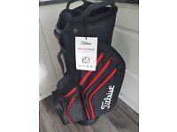 Brand new Titleist cart 14 lightweight bag.