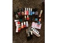 Nail varnish polish bundle