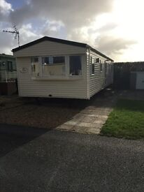 Abi Vista platinum 36 foot x 12 foot, 3 bedroom, double glazed and central heated holiday home,