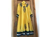 Beautiful yellow occasion dress