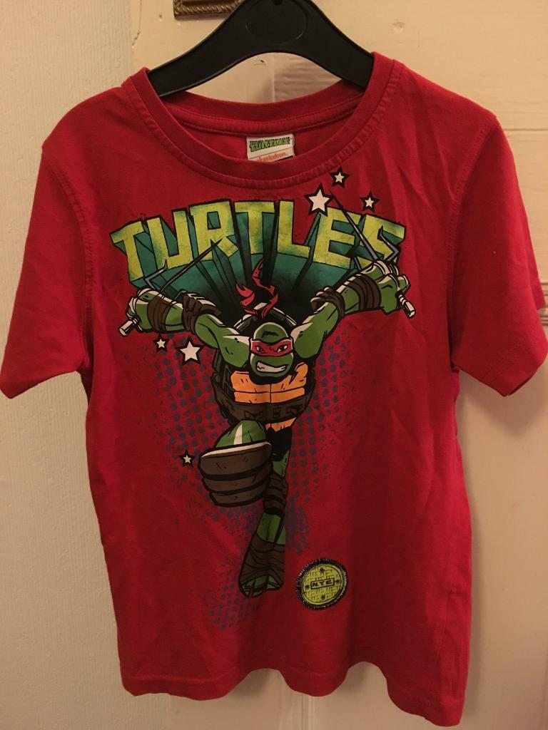 George Ninja Turtles t shirt 5-6yrs