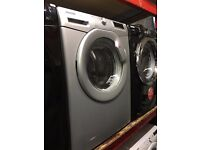 HOOVER 8KG 1600 SPIN A+++ SILVER WAHING MACHINE