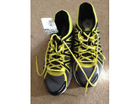 NIKE Size 8 Black/Grey/Yellow Men's Trainers **BNWT - JUST £30**