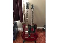 Epiphone double neck to sell or trade for Strat