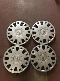"4 X Citroen 15"" wheel trims"