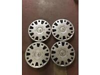 "4 X Citroen 15"" wheel trims"