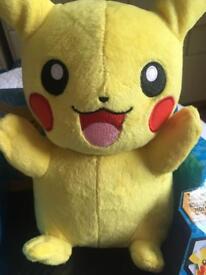 Talking pikatchu & Pokemon jigsaws