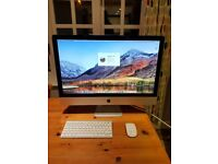 """Apple iMac 27"""" 2011 with SSD and top spec"""