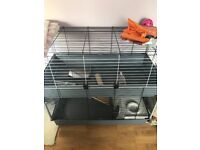 Pets cage indoor new 100x50x90 cm
