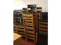 Chairs stacking