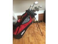 PROFILE VF COMPLETE GOLF SET +DELUXE STAND BAG