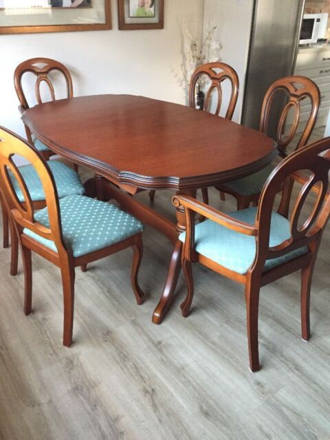 Wondrous John Coyle Dining Room Table And Chairs In Bridge Of Don Aberdeen Gumtree Bralicious Painted Fabric Chair Ideas Braliciousco